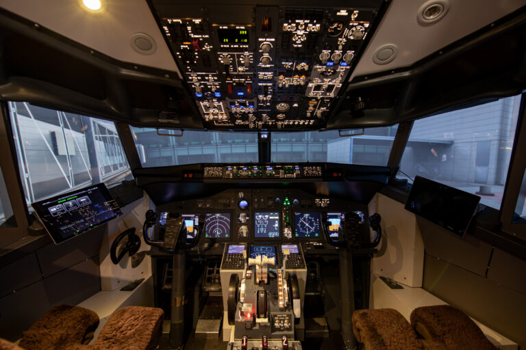 Cockpit at the Gate